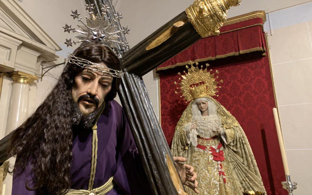 Regreso del Señor de las Tres Caídas a Santa Isabel «La Real»